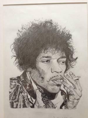 Jimi Hendrix par loloisa